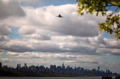 Space Shuttle Enterprise in New York