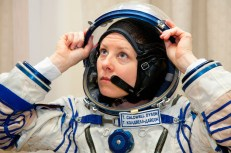 US astronaut Tracy Caldwell Dyson