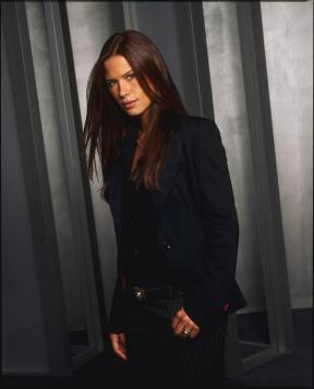Rhona Mitra as Tara Wilson in Boston Legal