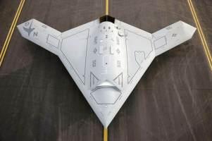 Stealth drone X47B