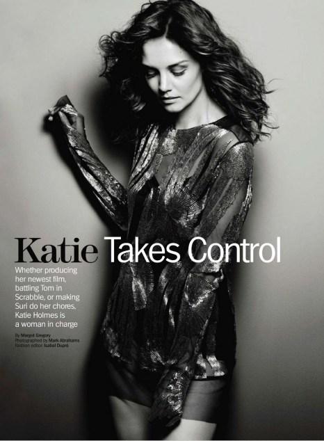Katie Takes Control