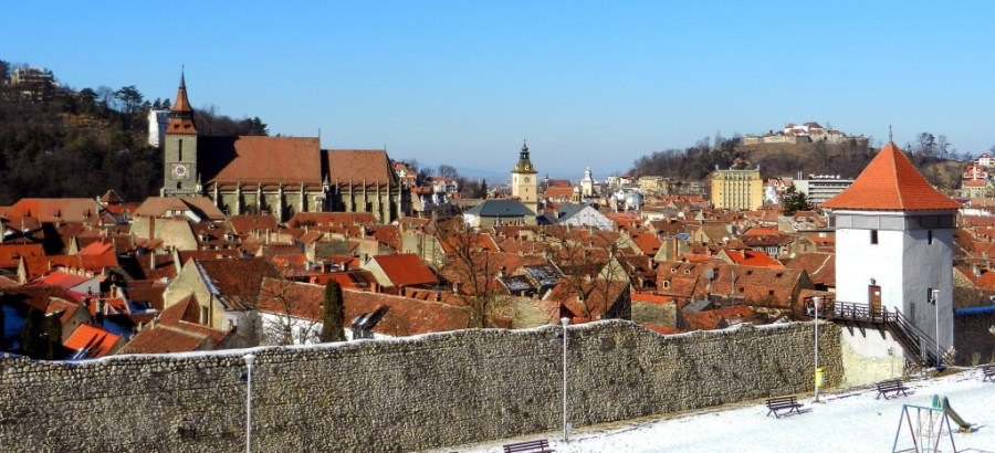 Brasov Old Town, Transylvania, Romania