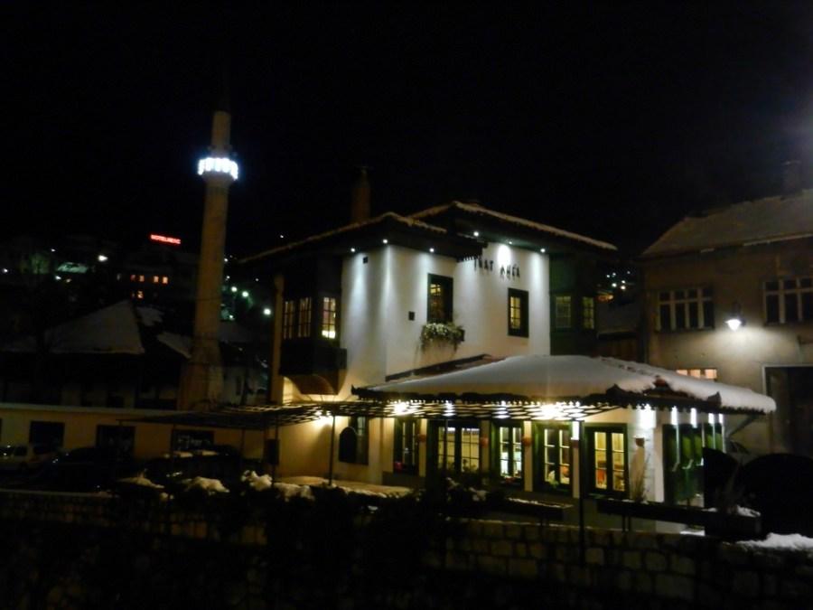 Inat Kuća, The Spite House, Sarajevo