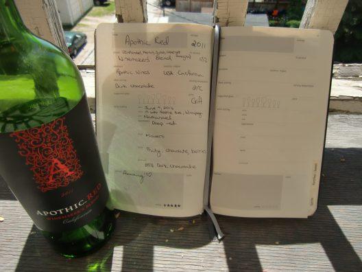 Wine, Wine Journal