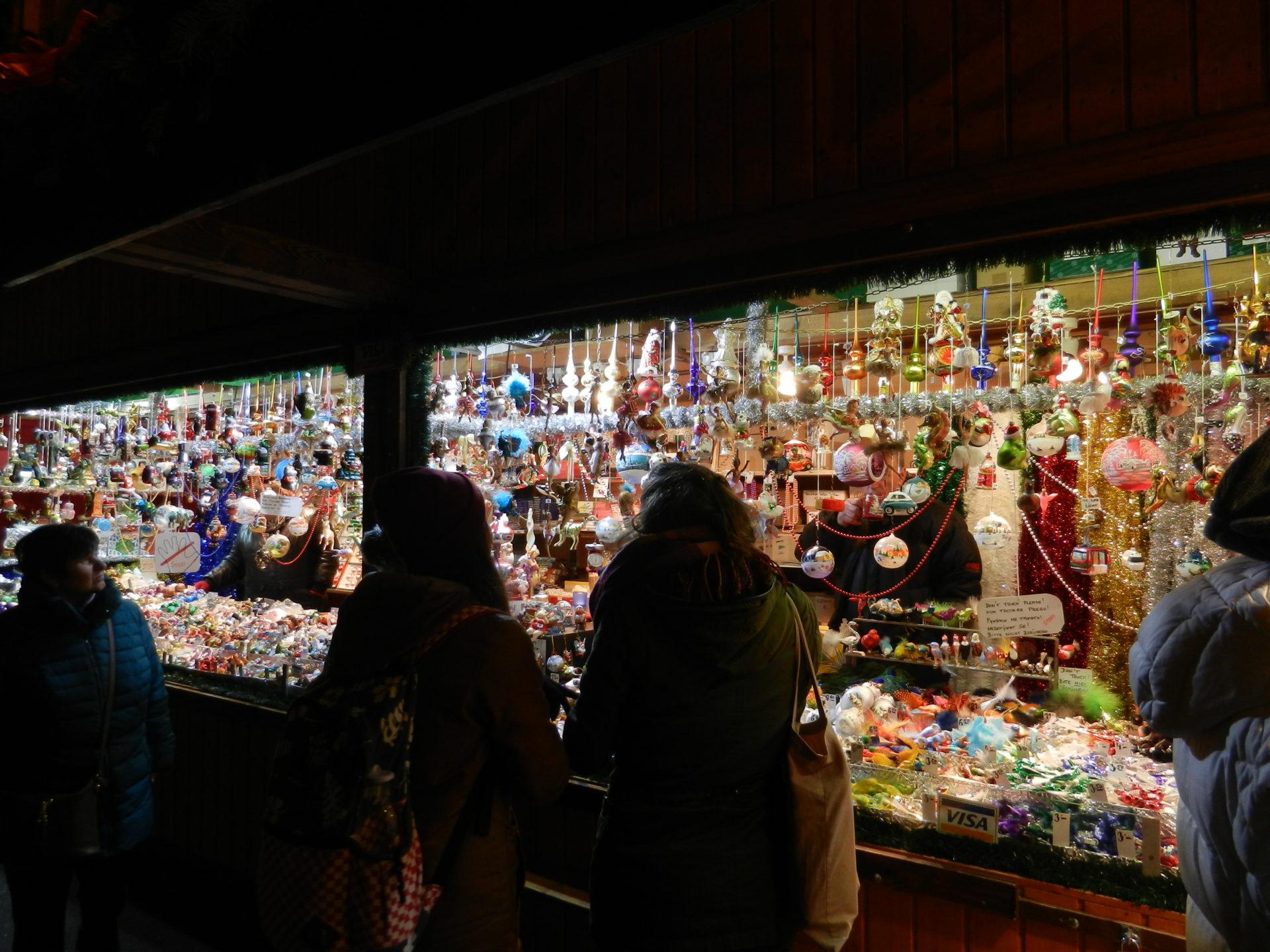 Christmas stalls, Salzburg, Austria