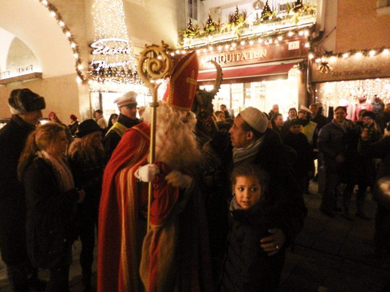 St. nicholas, Krampus, Salzburg