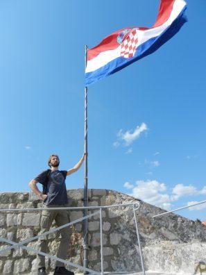 Croatian Flag, Dubrovnik