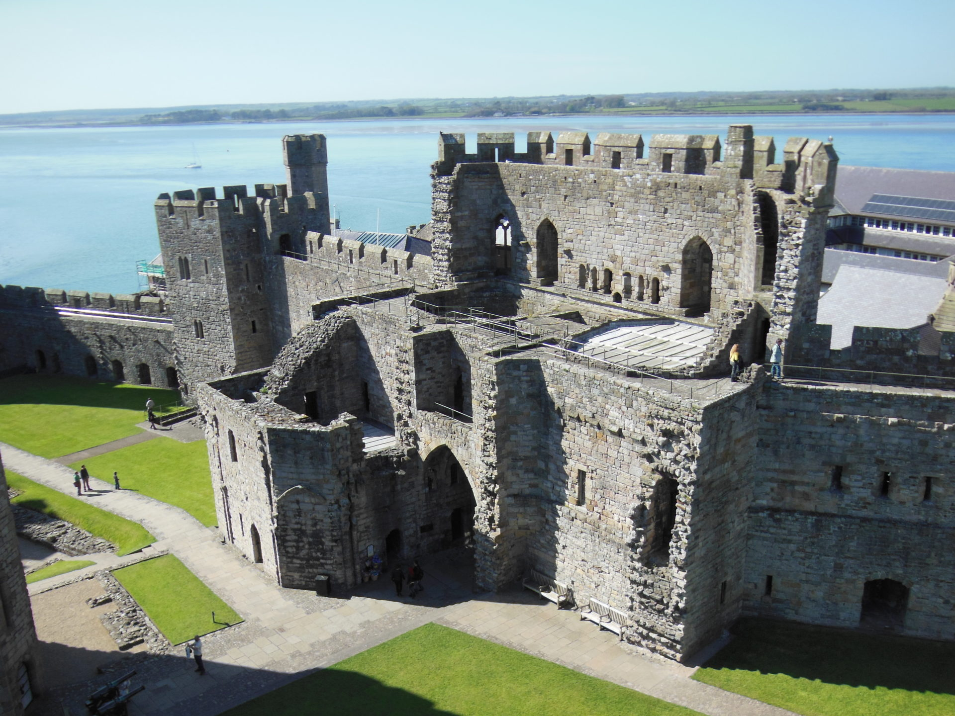 Caernafon Castle, Wales