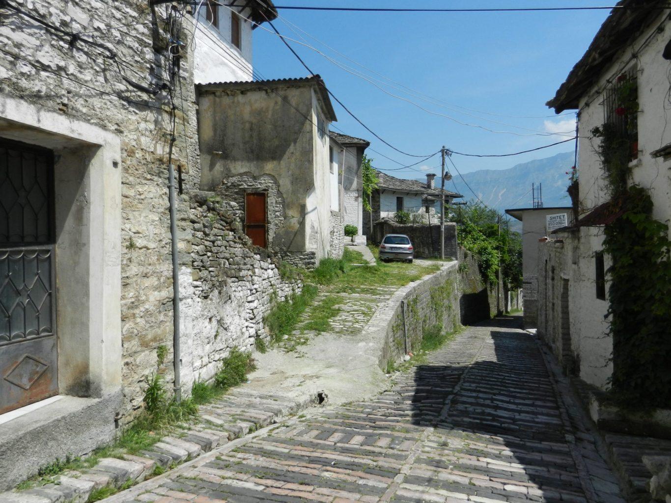 Streets of Saranda, Albania