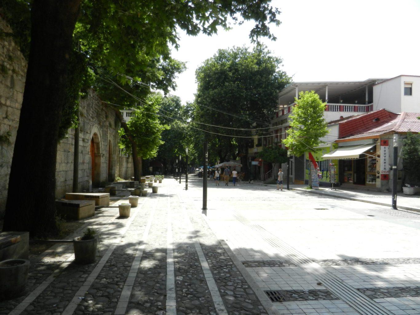 Streets of Tirana, Albania