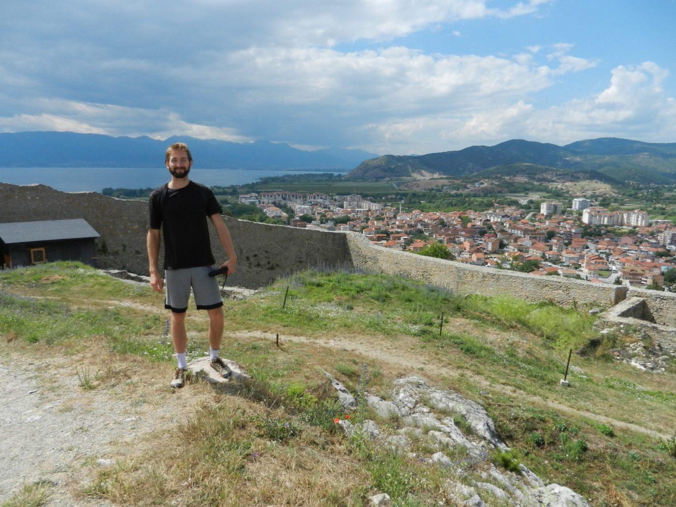 Nathanael at Samuel's Fortress, Ohrid, Macedonia