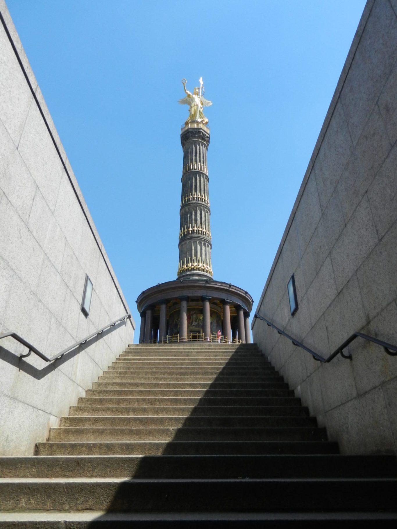 Berlin Victory Column in Tiergarten, Berlin, Germany