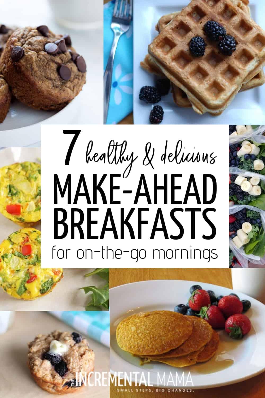 healthy make-ahead breakfast recipes