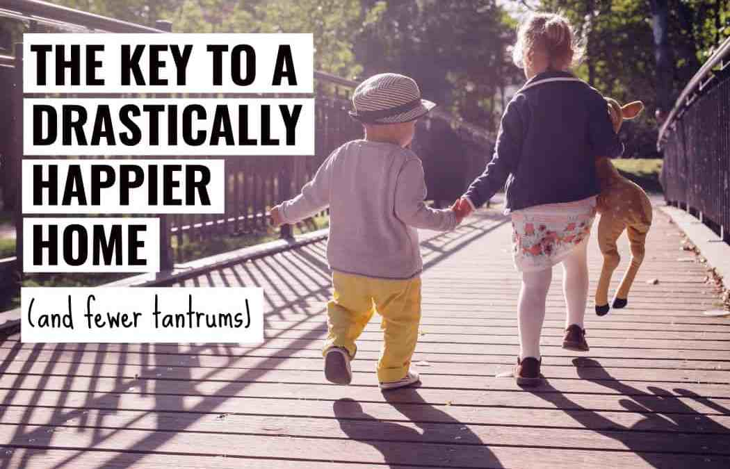 The Key to a Happier Home and Fewer Meltdowns