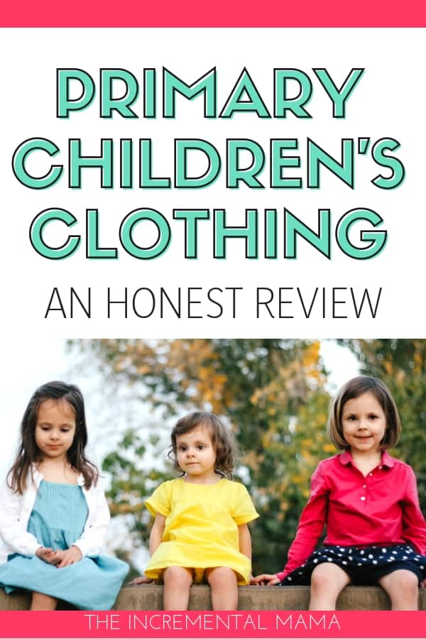 Primary Clothing Review #primaryclothing #parenting