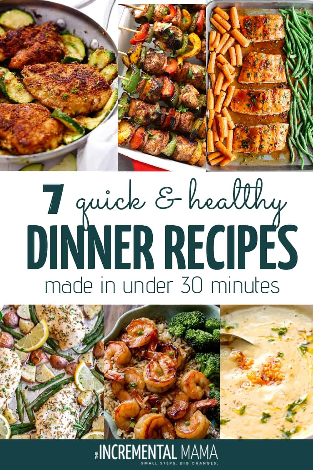 quick and healthy dinners under 30 minutes