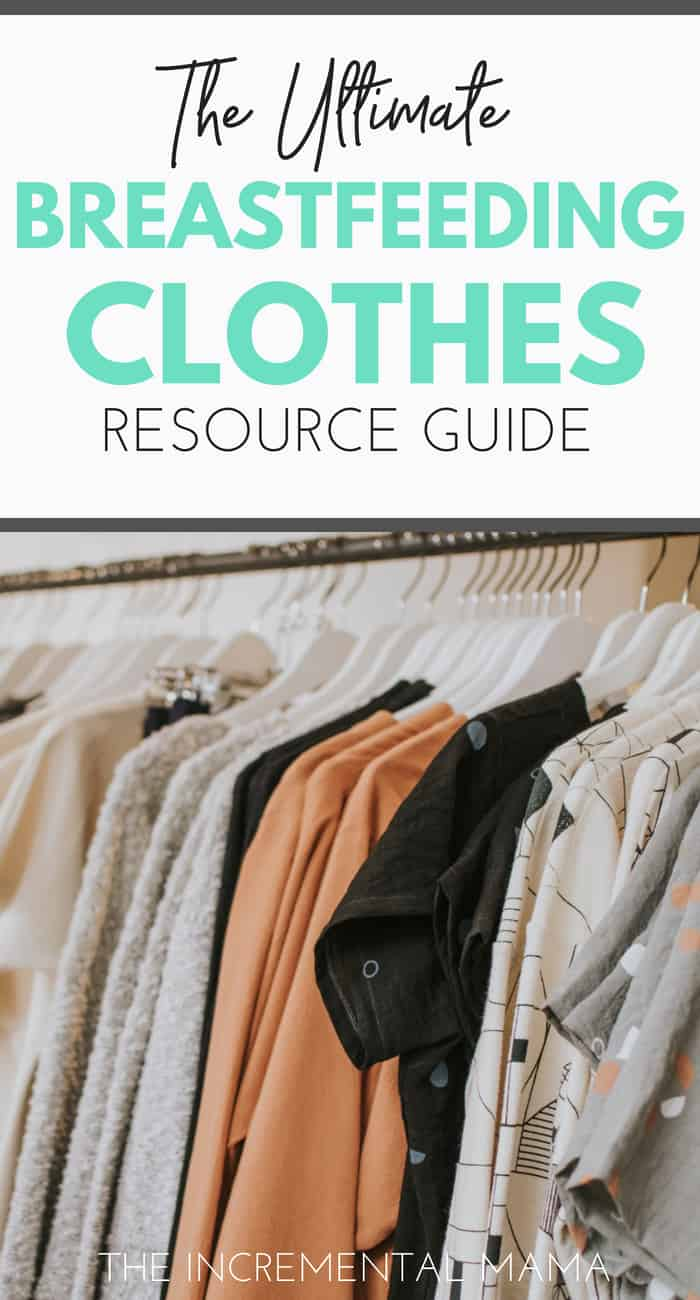The Ultimate Breastfeeding Clothes Resource Guide #breastfeeding #nursingclothes