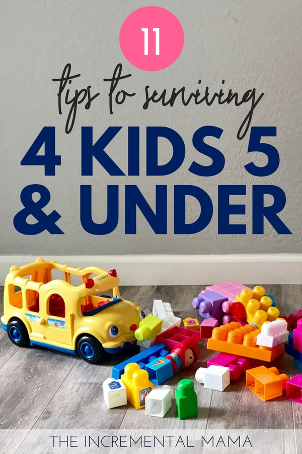 Surviving and thriving with 4 kids 5 and under