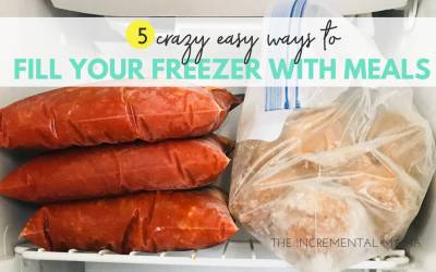 5 Crazy Easy Ways to Fill Your Freezer With Meals