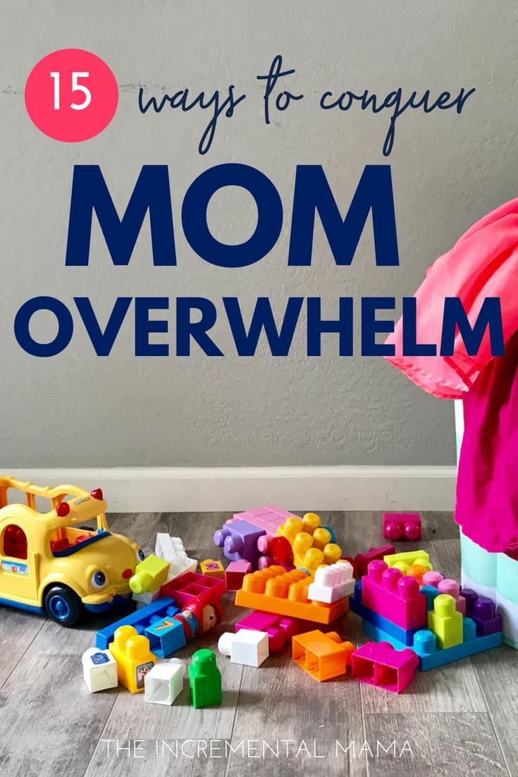 Ditch overwhelm & get organized #momhacks
