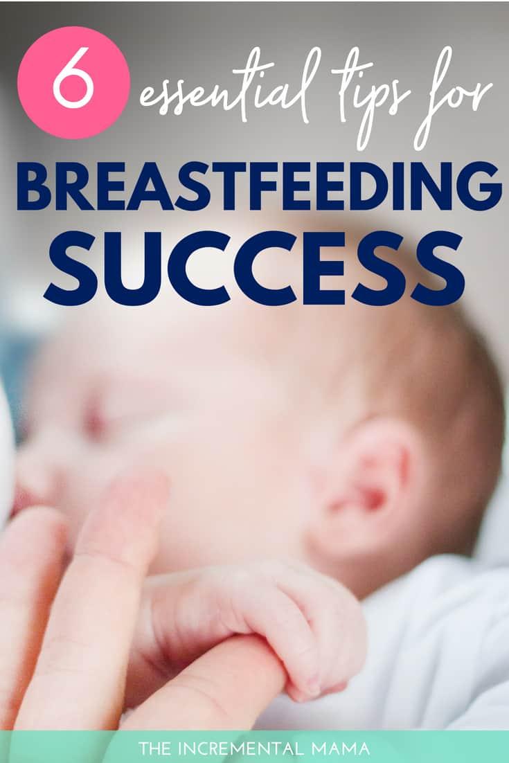 6 Essential Breastfeeding Tips