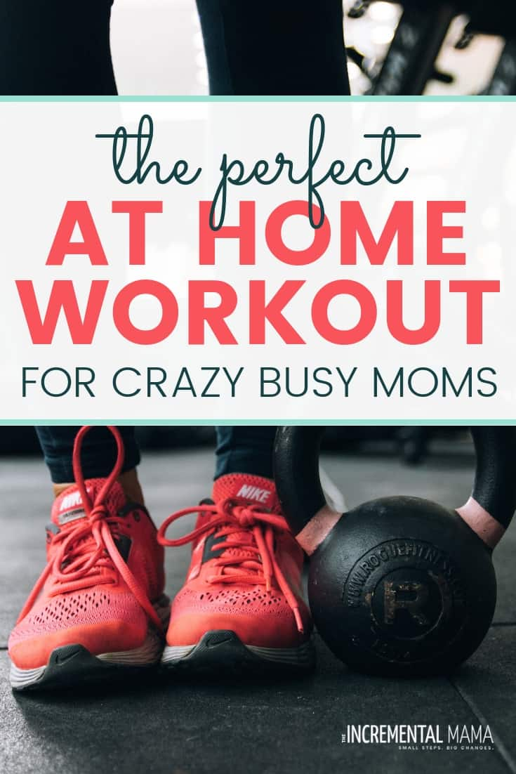 This is the best full body workout that you can do at home...and in under 30 minutes! Perfect workout for busy moms. #bestfullbodyathomeworkout #athomeworkoutvideo #bestworkoutvideo