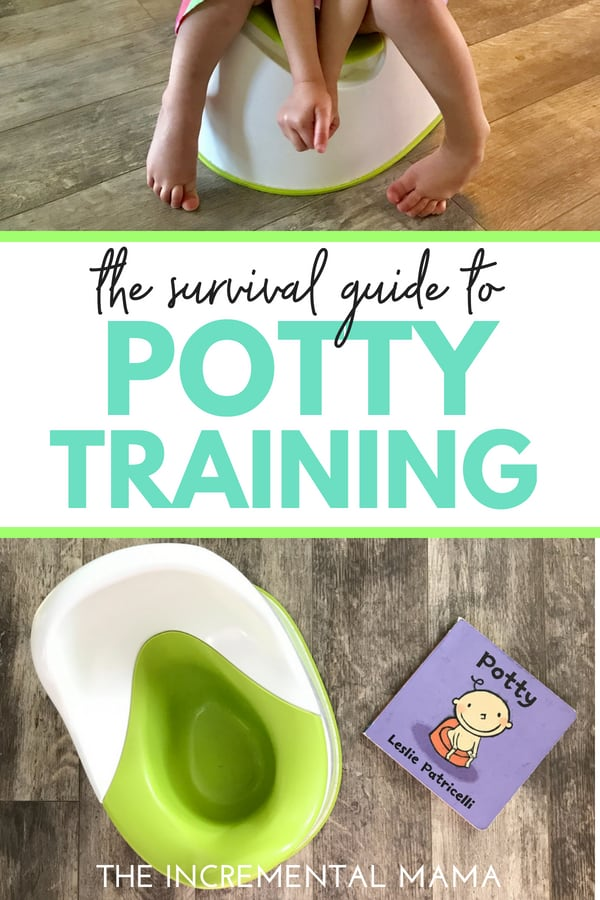 Potty Training Tips & Tricks (free printable chart)