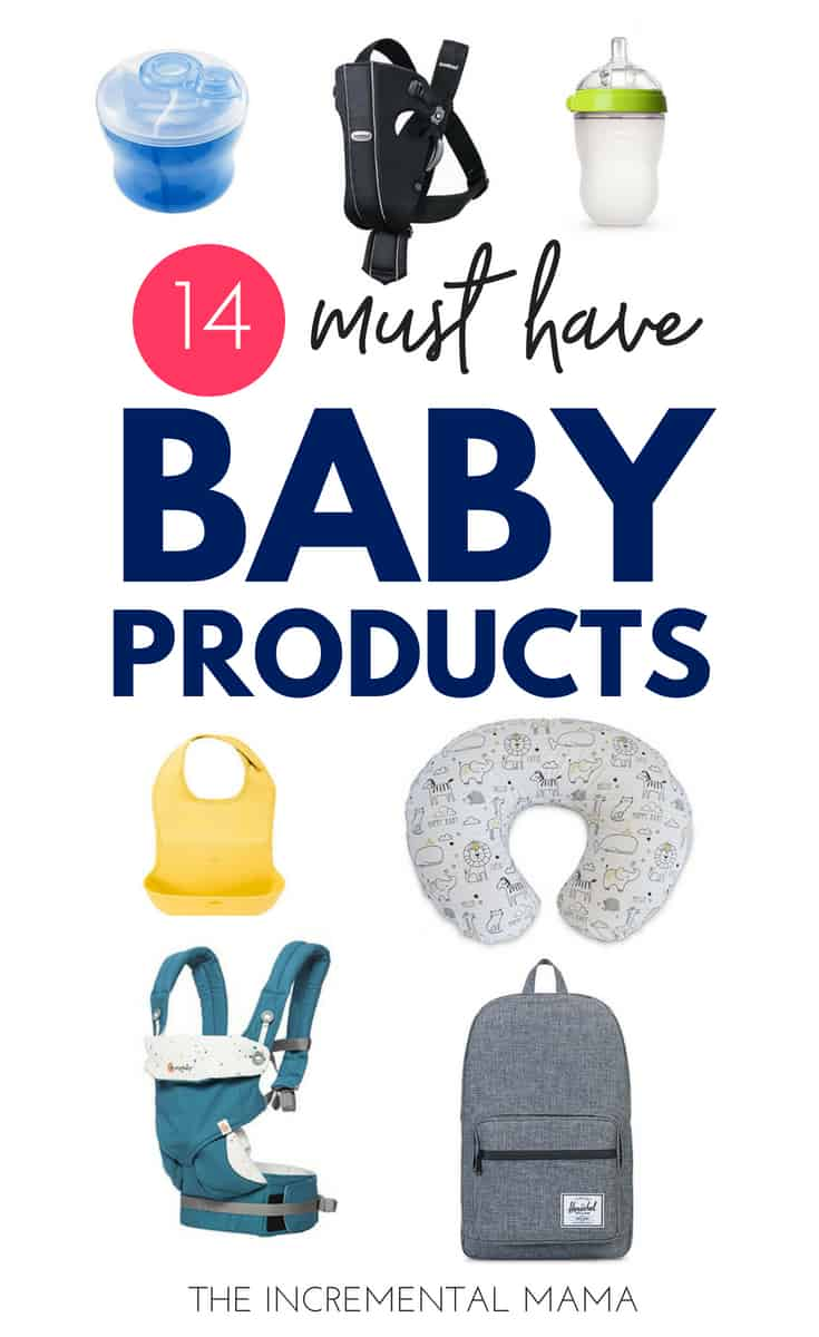 14 Must Have Baby Products