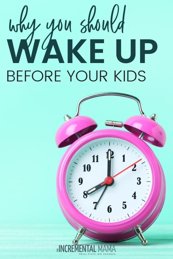 Wake Up Before Your Kids & Change Your Life #momhacks #momroutine