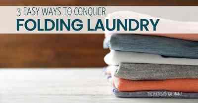 3Brilliant Laundry Folding Hacks (Never Get Behind Again!)