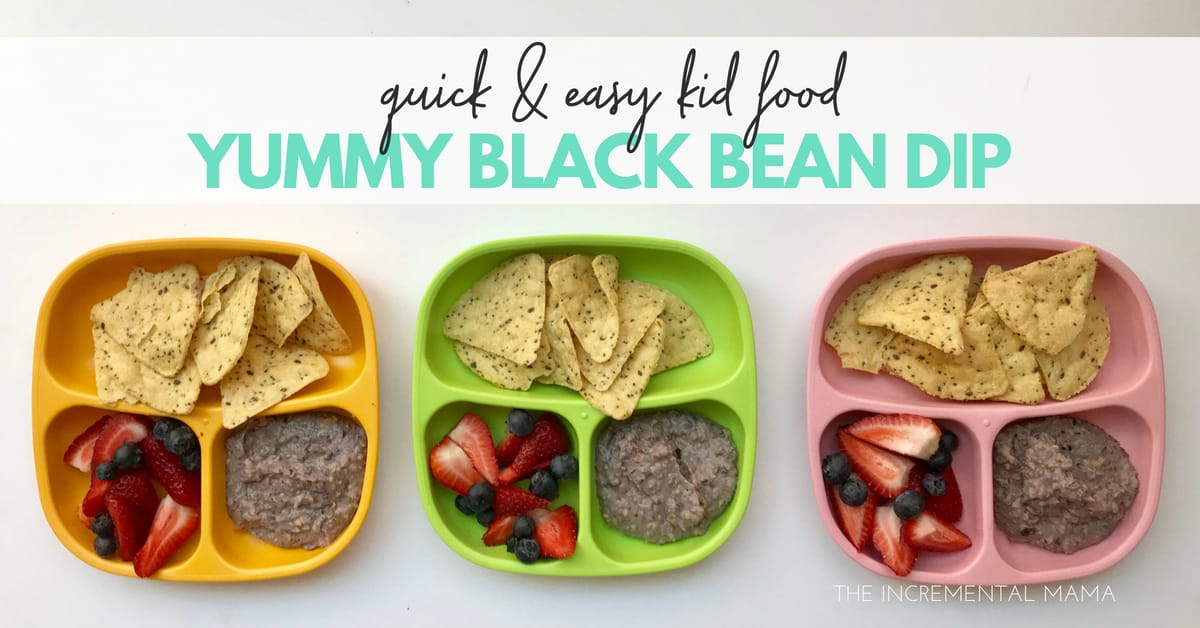 Quick and Easy Kid Food: Yummy Black Bean Dip