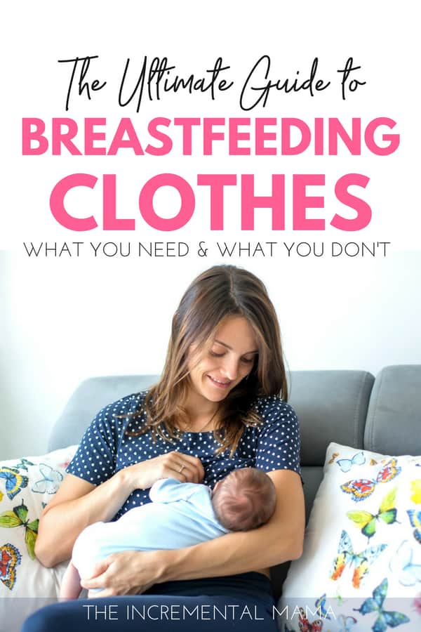 The Guide to the Breastfeeding Clothes You Need #breastfeeding #Newmom #breastfeedingtips