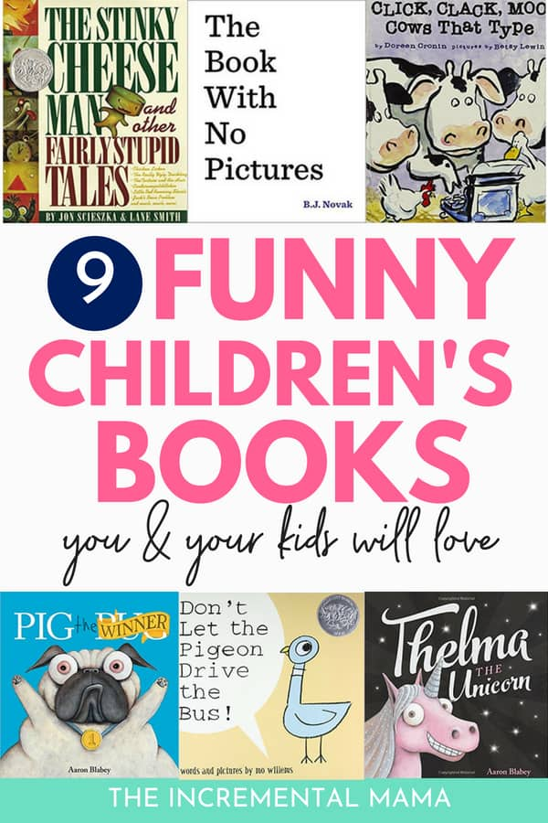 Bond with your kids over these 7 funny children's books #funnychildrensbook #bestbooksforkids #parenting
