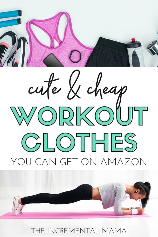 Cheap Workout Clothes For Women You Can Buy on Amazon ad69a9a42766