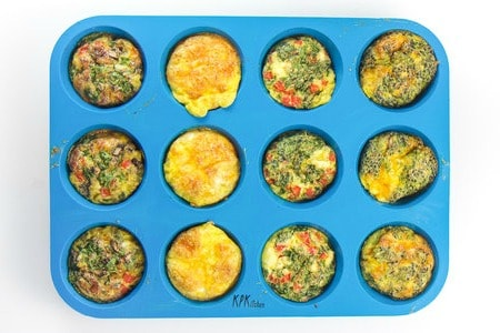 high protein egg breakfasts for kids - egg muffins