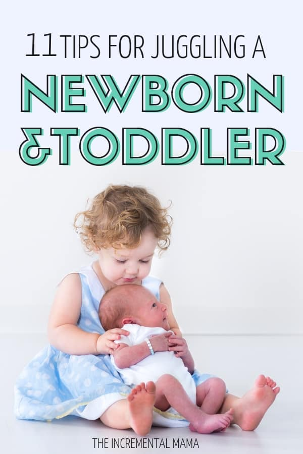 11 Essential Tips to Surviving a Newborn and Toddler #parenting