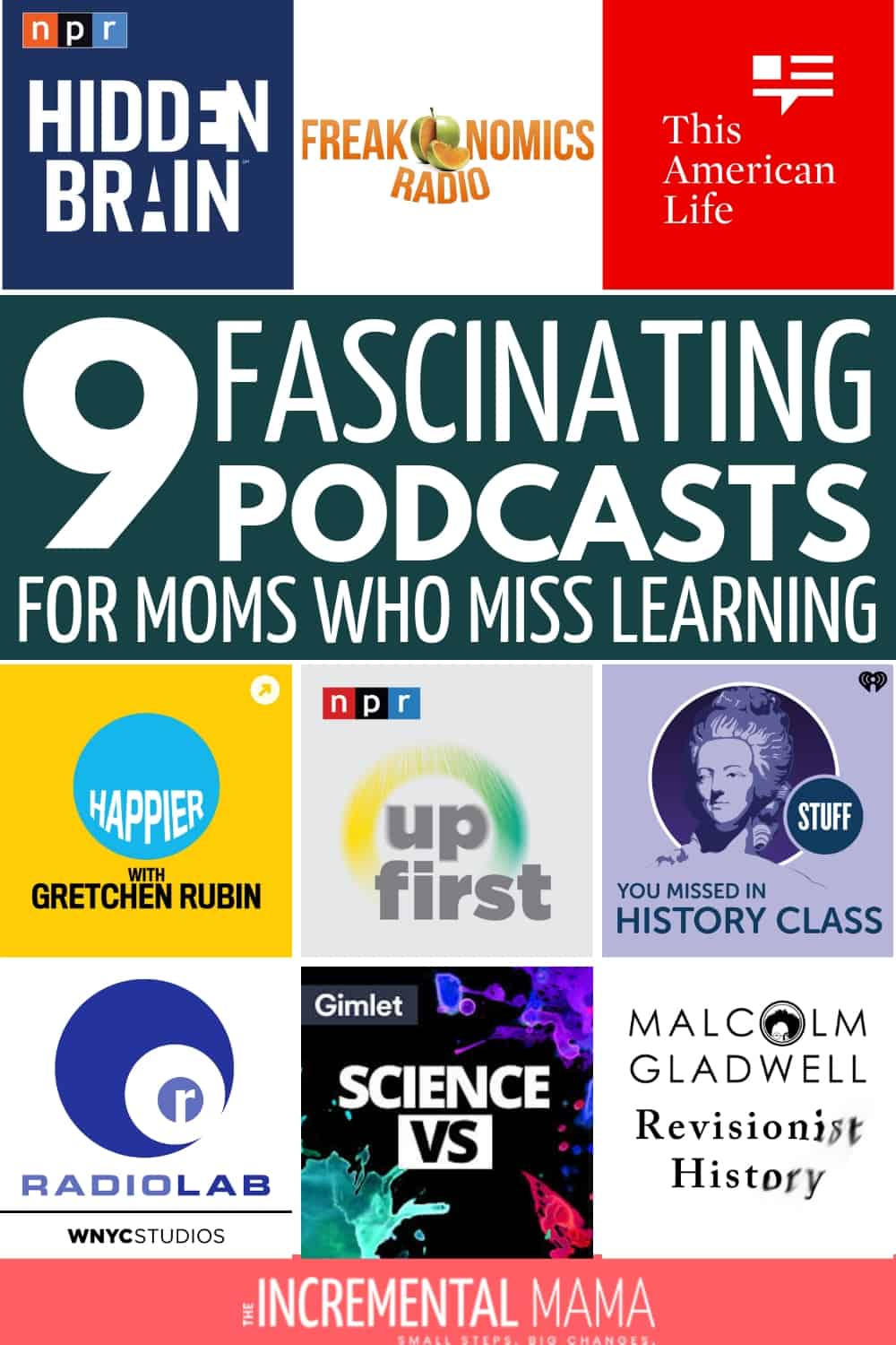 9 best podcasts for moms