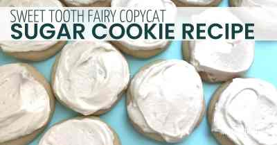 Sweet tooth fairy sugar cookie recipe
