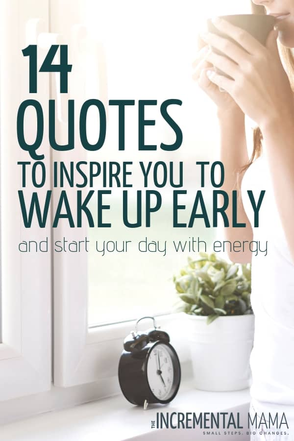 wake up early motivation