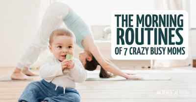 morning routine ideas for moms