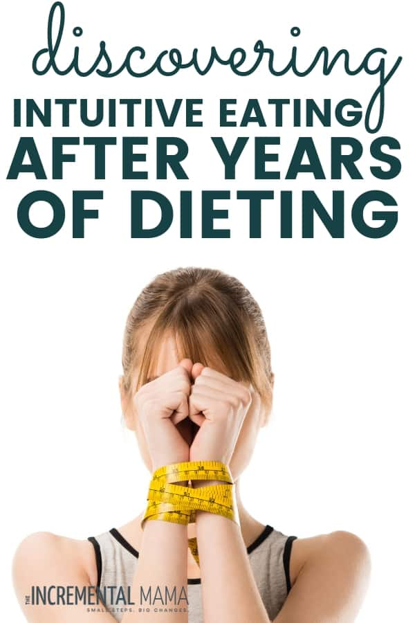starting intuitive eating