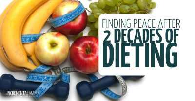 My diet history - diets don't work