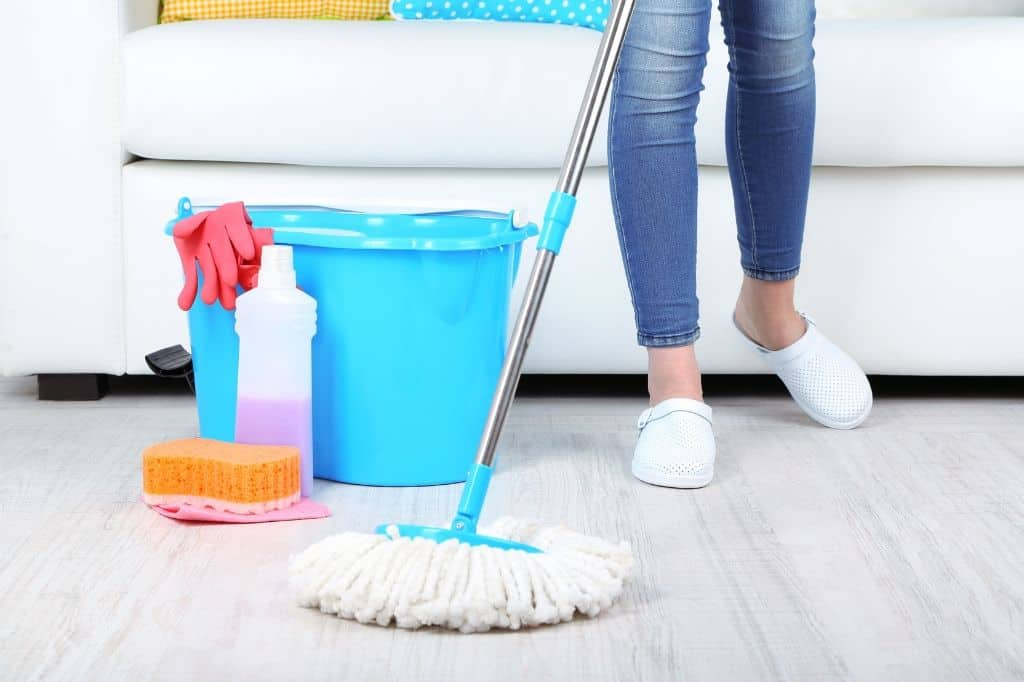 Fastest way to clean a cluttered house in one day