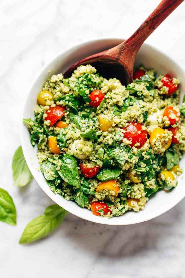 healthy green summer salad recipe