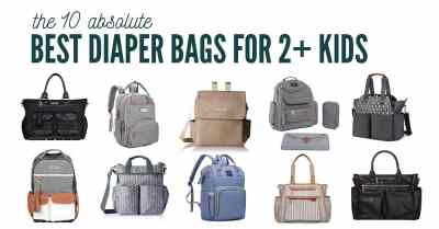 best diaper bag for toddler and newborn