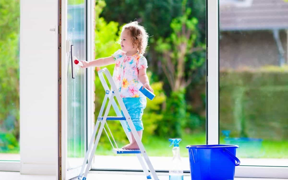start chores young