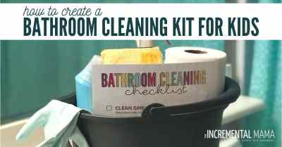 cleaning supply kit for kids