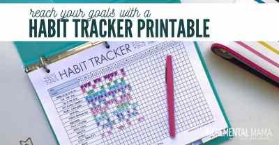 free habit tracker printable
