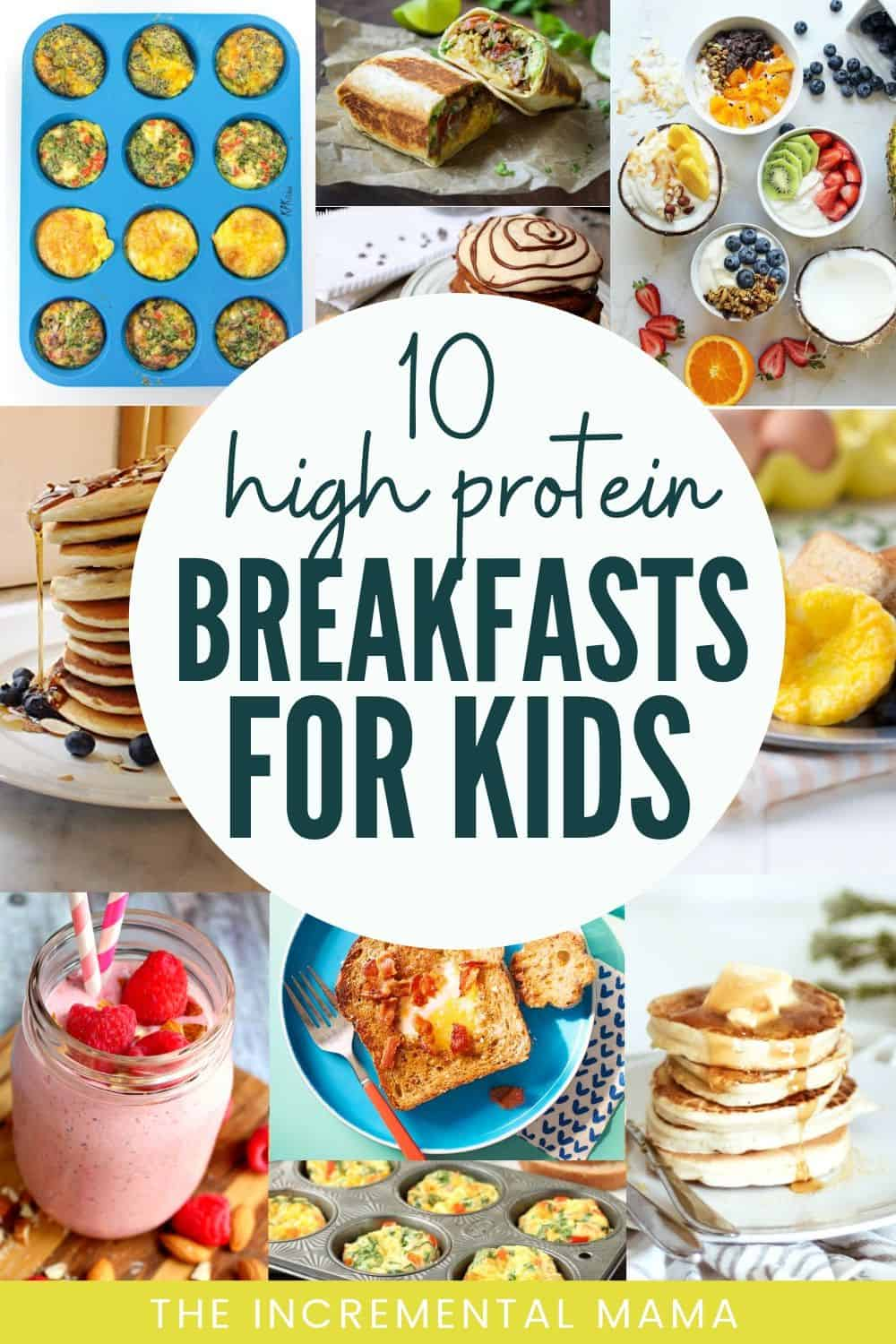 high protein breakfasts for kids