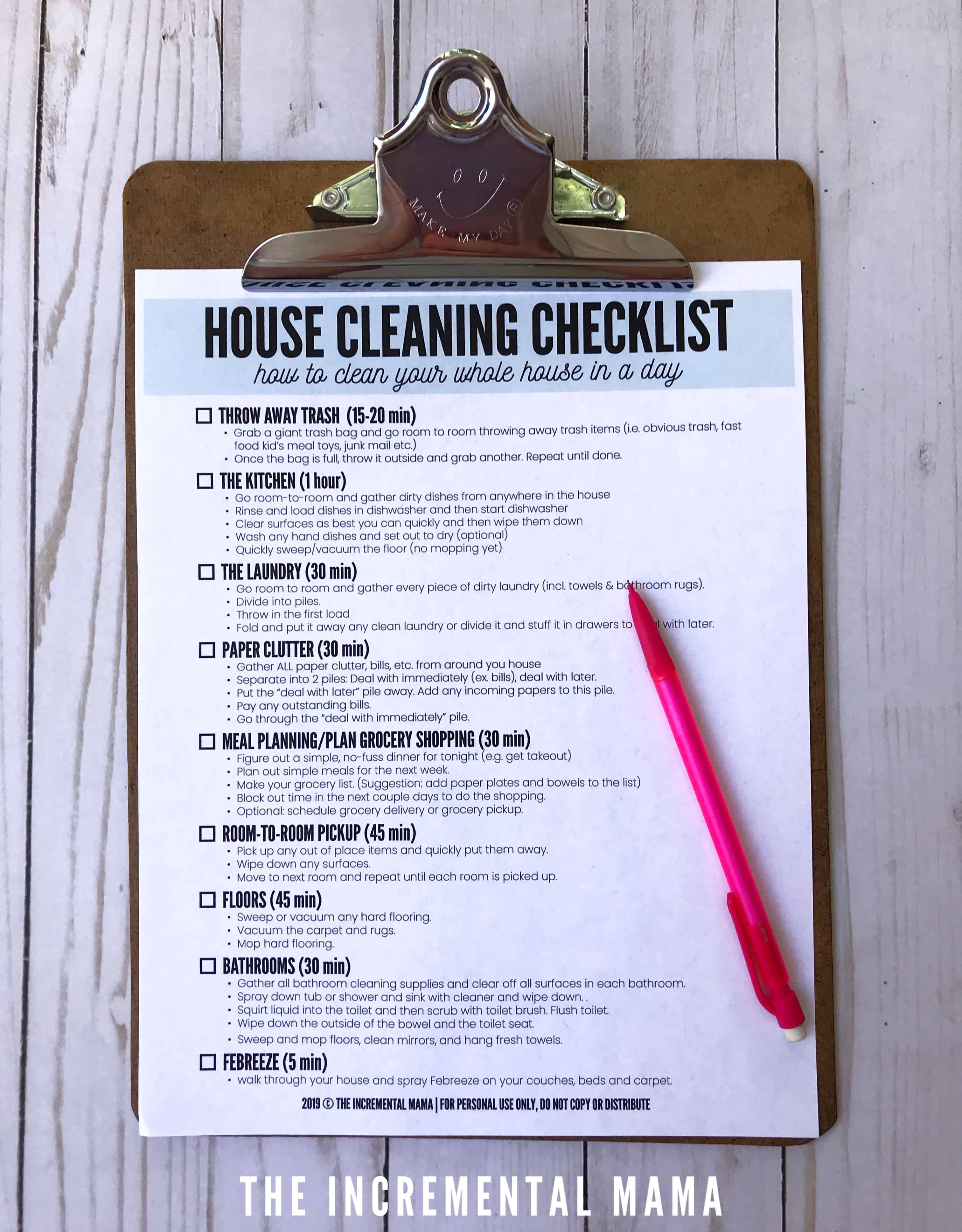 house cleaning checklist when house is disgusting mess